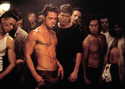 enable images to see a pic of brad pitt in fight club